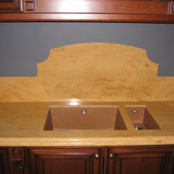 кухонный стол из камня Алексино